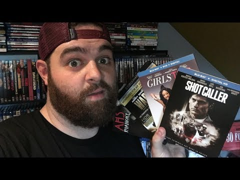 Blu-ray And 4K Collection Update (Shotcaller, Girls Trip, Signed Posters!)