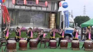 羽黒の夏祭り4・和太鼓演奏・犬山和太鼓クラブ響