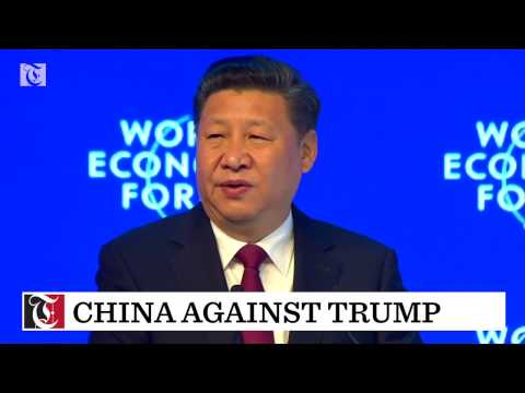 Its largest senior delegation in Davos...and President Xi Jinping headlining the World Economic Forum.