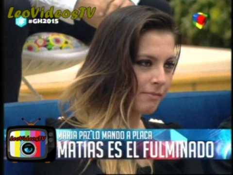 Angie Matias Marian y Brian nominados GH 2015 #GH2015 #GranHermano