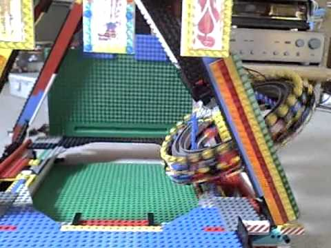 Lego-kirmes aufbau breakdancer