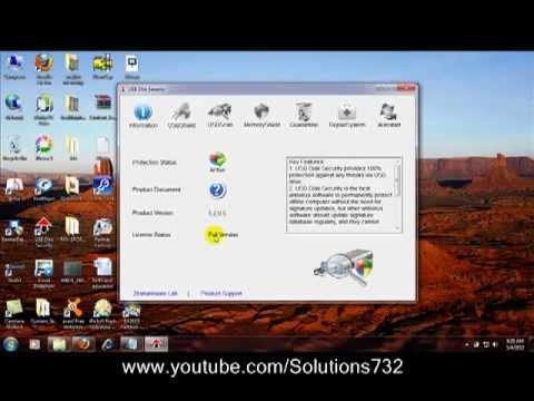 USB Disk Security Install and Uninstall With License Key.mp4