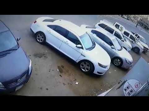 #جازان شاب يسرق خروفاً من صندوق سيارة متوقفة