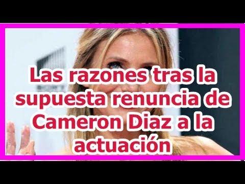 Las razones tras la supuesta renuncia de Cameron Diaz a la actuación