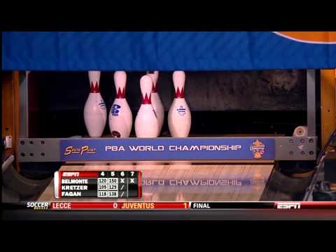Part 2 WSOB Mike AUlby Division vs Mike Fagan, Brian Kretzer - Perfect 300 game