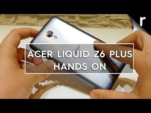Acer Liquid Z6 Plus hands-on review