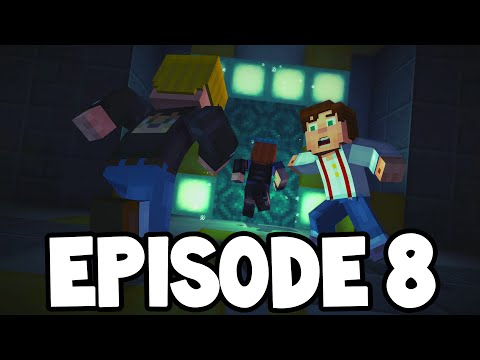 "Minecraft Story Mode - EPISODE 8 - ALL CHAPTERS! "" A Journeys End?"""