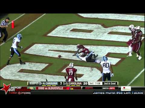 Landon Turner vs South Carolina 2013 video.