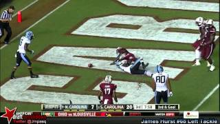 James Hurst vs South Carolina (2013)