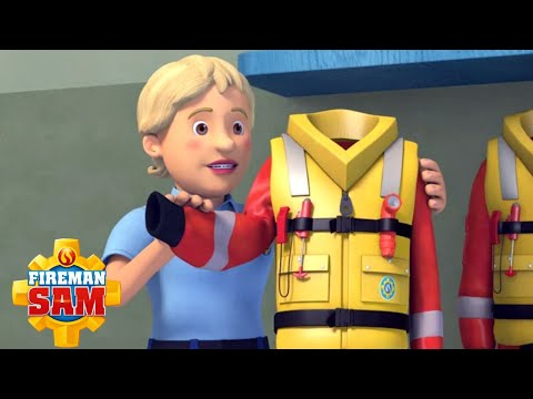Fireman Sam Official | New Rescue Uniform Training | Firefighter Tools | Cartoon for Children