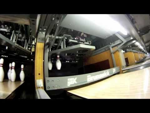 brunswick - AWESOME Brunswick Pin Setter Video 10 pin Brunswick GSX pinsetter mechanical operation video. I shot this video with a Canon T1i and a GoPro Hero. www.Fleewa...