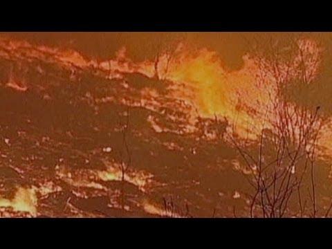 إندلاع أكثر من ثلاثين حريقا في شمال البرتغال - فيديو
