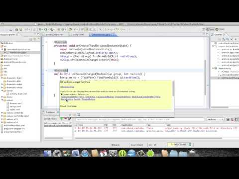 Android Development Course - Chapter 25 - Radio Button