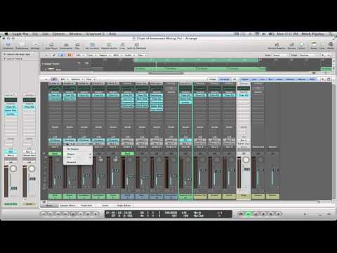 Logic Pro 9 Tutorial – Mixing Techniques (Part #2)