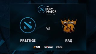 Prestige World Wide vs Rex Regum Qeom, The Kiev Major SEA Main Qualifiers