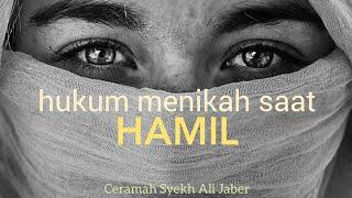 Video Hukum menikah saat HAMIL!! - Ceramah Syekh Ali Jaber MP3, 3GP, MP4, WEBM, AVI, FLV November 2017