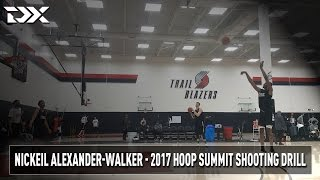 2017 Nike Hoop Summit Shooting Drills: Nickeil Alexander-Walker