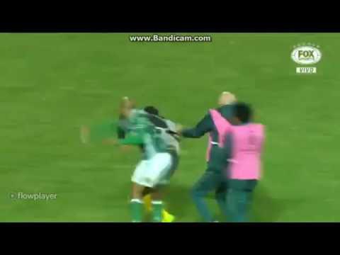 Confusão Em Final De Jogo Peñarol(URU) 2X3 Palmeiras