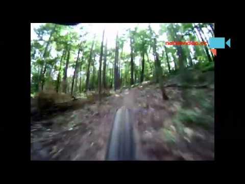 Downhill -  pohled zezadu