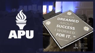 Everyone at American Public University wants to see you succeed. Like schools with physical classrooms, here you'll find admissions representatives, academic advisors, and career coaches to guide you. We are your partners through your education journey and we are committed to your success as a student.