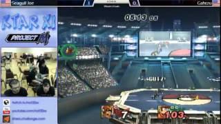 [KTAR XI] Seagull Joe (Diddy) vs. Gahtzu (Falcon) Diddy still ain't no pushover.