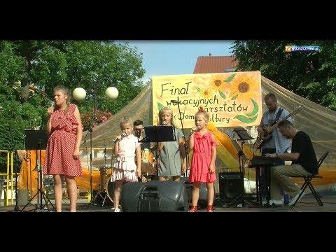 Włoszczowskie Wakacyjne Warsztaty Wokalne - koncert finałowy