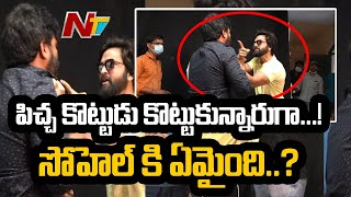 Bigg Boss Sohel Fighting With Movie Director At Sets