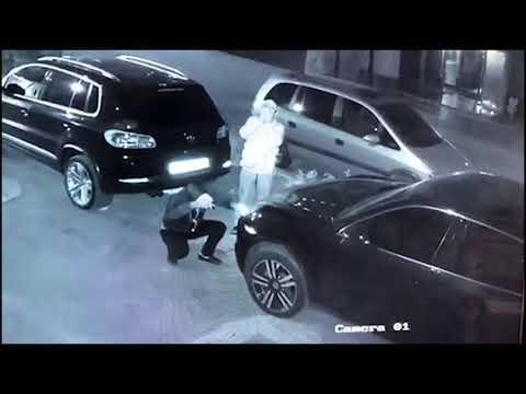 Գողություն կայանված ավտոմեքենայից. (տեսանյութ)