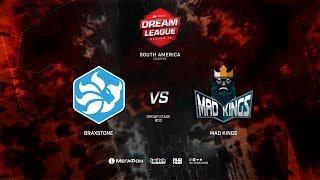 Braxtone vs Mad Kings, DreamLeague Minor Qualifiers SA,bo3, game 2 [Mortalles and Lum1sit]