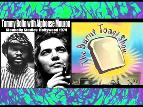 Alphonse Mouzon talks about Tommy Bolin online metal music video by ALPHONSE MOUZON
