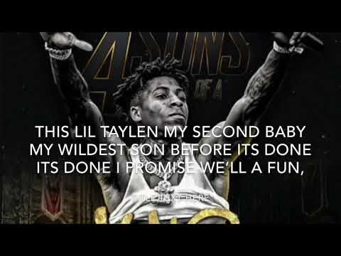 NBA YOUNGBOY - 4 Sons Of A King (Lyrics) #4kt