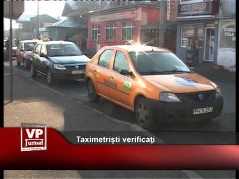 Razie la taximetriști