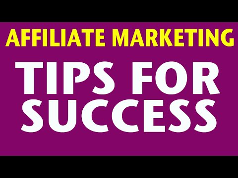 Affiliate Marketing – Overview for Beginners