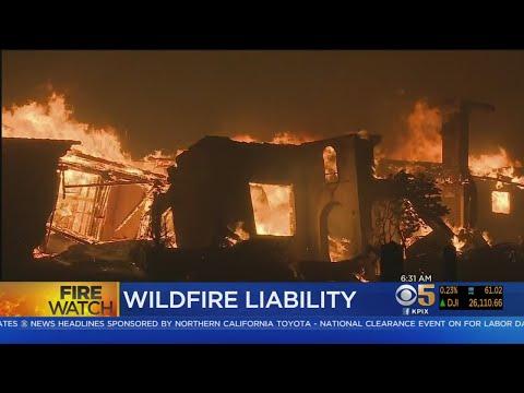 California Lawmakers Face Deadline On Wildfire Liability Bill