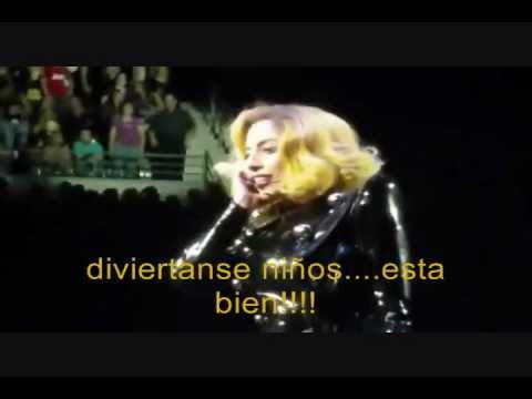Lady Gaga habla con un fan en Español (SUBTITULADO)