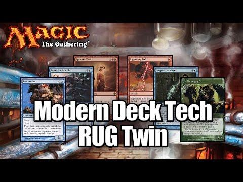 Modern - Modern Deck Tech: RUG Twin - - - Deck List - - - 3x Deceiver Exarch 3x Pestermite 3x Snapcaster Mage 4x Tarmogoyf 1x Vendilion Clique 2x Cryptic Command 2x Dig Through Time 1x Dispel 2x...