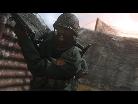 Official Call of Duty®: WWII – Multiplayer Reveal Trailer (видео)