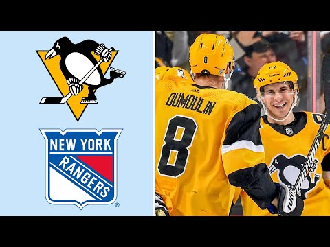 Video: Pittsburgh Penguins vs. New York Rangers | EXTENDED HIGHLIGHTS | 2/17/19 | NHL on NBC