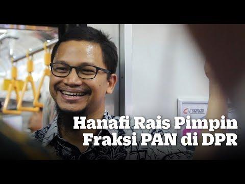 Hanafi Rais Pimpin Fraksi PAN di DPR