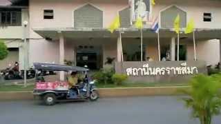 タイの通り・街並ナコーンラーチャシーマー(コラート)
