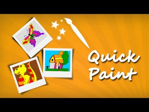 Video of Kids Color Painting Pictures 1
