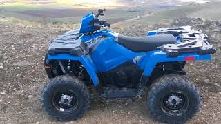 5. 2018 Polaris Sportsman 450 H.O. Review