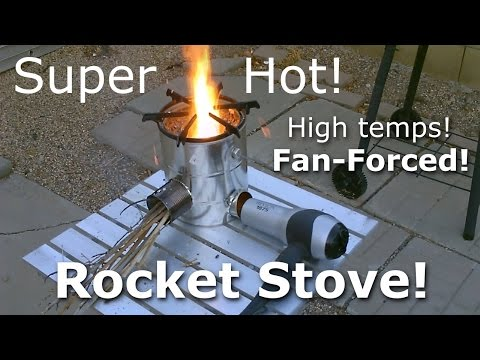 Homemade ROCKET Stove! - The 5-Can