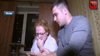 Видеокамера сняла зверское избиение женщины на улице в Москве
