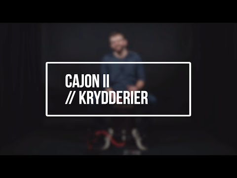 Hør Cajon II // Krydderier // Bjarne Klitgaard på youtube