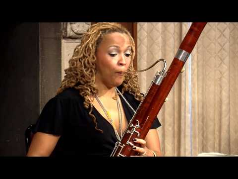 woodwind quintet - Imani Winds performs Elliott Carter's