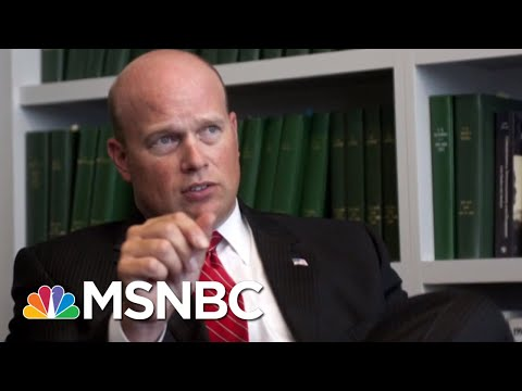 Watchdog Groups Ask Feds To Probe Whether Whitaker Violated Hatch Act | Velshi & Ruhle | MSNBC