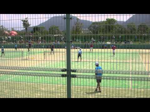14 全国中学校ソフトテニス大会 男子 準々決勝 2-1