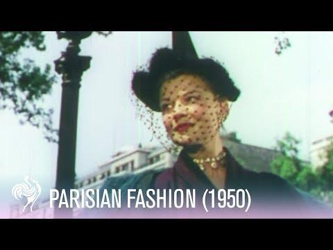 1950с Фашёнс ин Парис - Реал Винтаге Фашён Фоотаге