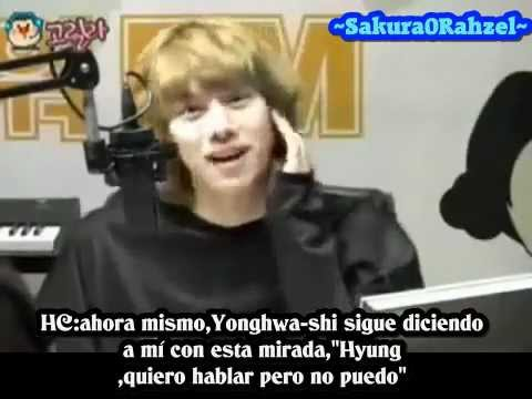 [Sub-Español] 100529 - Yonghwa's Lost Ring And Minhyuk's Jealousy-!
